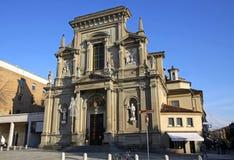 The church of San Bartolomeo in Bergamo Stock Images