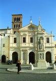 Church of San Bartolomeo, Rome, Italy Royalty Free Stock Photo