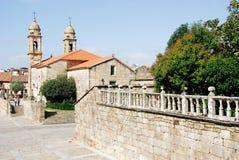 Church of San Benito, Cambados. Galicia Royalty Free Stock Image