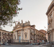 The church of San Biagio is a catholic church in Catania Stock Photo