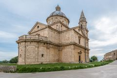 The church of San Biagio in Montepulciano royalty free stock images