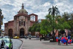 Church of San Blas, Cuenca, Ecuador Stock Photos
