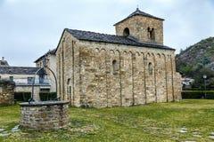 Church of San Caprasio in Santa Cruz de la Seros,  Aragon Spain Stock Images