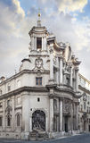 Church of San Carlo alle quattro Fonts ROME royalty free stock images