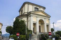 Arona, Italy. The Church of San Carlo Borromeo in the Sacro Monte di Arona, Italy Stock Photography