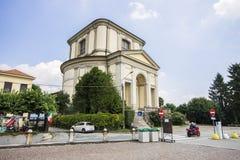Arona, Italy. The Church of San Carlo Borromeo in the Sacro Monte di Arona, Italy Royalty Free Stock Photography
