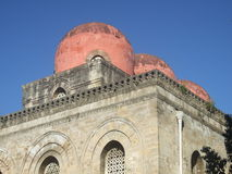 Church of San Cataldo (Palermo) Stock Images