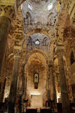 Church of San Cataldo Palermo Sicily Italy stock images