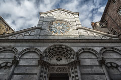 The church of San Cristoforo, Lucca. Tuscany, Italy Royalty Free Stock Photo