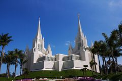 Church in San Diego Royalty Free Stock Images