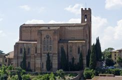 Church of San Domenico Royalty Free Stock Images