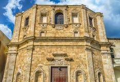 Church of San Domenico al Rosario, in Gallipoli, Italy Royalty Free Stock Photography
