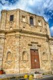 Church of San Domenico al Rosario, in Gallipoli, Italy Royalty Free Stock Photo