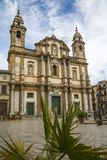 Church Of San Domenico, Palermo, Sicily Royalty Free Stock Images