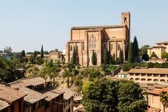 Church of San Domenico in Siena Stock Photos