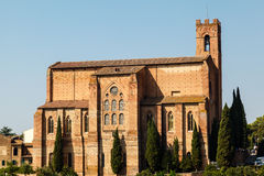 Church of San Domenico in Siena Stock Images