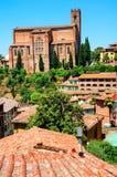 Church of San Domenico in Siena Stock Image