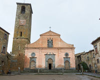 Church of San Donato in the main piazza Stock Photos