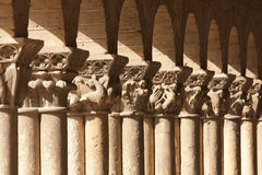 Church of San Esteban in Segovia, Spain Stock Images