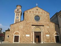 Church of San Felice and Fortunato in Vicenza Royalty Free Stock Photo
