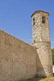 Church of San Felipe, built in the S. XIII transitional Romanesq Royalty Free Stock Image