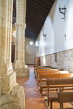 Church of San Felipe, built in the S. XIII transitional Romanesq Stock Photos