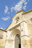 Church of San Felipe, built in the S. XIII transitional Romanesq Royalty Free Stock Photography