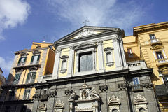 Church of san ferdinando Royalty Free Stock Photography