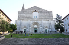 Church of San Fortunato in Todi, Perugia, Italy Royalty Free Stock Photography