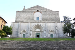 Church of San Fortunato, Todi, Perugia, Italy Stock Photography