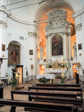 The Church of San Francesco in Bevagna Stock Images