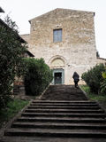 The Church of San Francesco in Bevagna Royalty Free Stock Photography