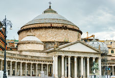 The church of San Francesco di Paola in Naples Stock Photo