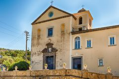 Church of San Francesco di Paola, Massa Lubrense, Italy Royalty Free Stock Photos
