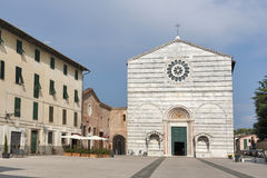 Church of San Francesco, Lucca, Italy Stock Image