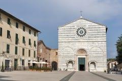 Church of San Francesco, Lucca, Italy. Church of San Francesco facade, Lucca, Tuscany, Italy Stock Image