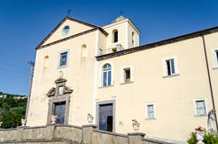 Church of San Francesco, Massa Lubrense, Italy Stock Photo