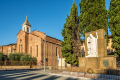 Church San Francesco in Prato Stock Photos