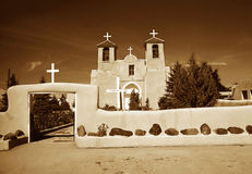Church San Francis de Assisi Royalty Free Stock Photos