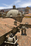 Church of San Francisco. In La Paz, Bolivia Stock Photo