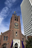 Church in San francisco royalty free stock images