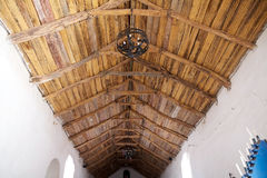 Church of San Francisco, Chiu Chiu, Chile Stock Images