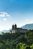 Church San Francisco de Paula in Ouro Preto, Minas Gerais, Brazil Stock Images
