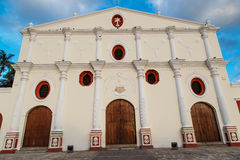 Church of San Francisco in Granada, Nicaragua Stock Images