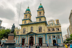 Church of San Francisco in Guayaquil, Ecuador Royalty Free Stock Images