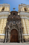 Church San Francisco, Lima Stock Image