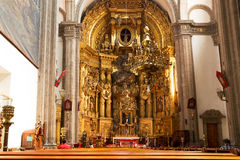 Church of San Francisco, Mexico City Royalty Free Stock Photos