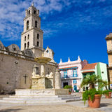 The Church of San Francisco in Old Havana Stock Image