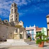 The Church of San Francisco in Old Havana Stock Image