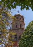 Church of San Francisco Querétaro stock photography